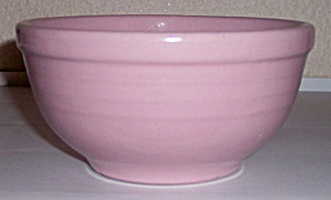 Meyers Pottery Pink #30 Mixing Bowl