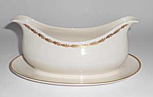 Franciscan Pottery Arcadia Gold Fine China Gravy Bowl!  (Image1)