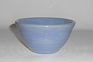 Bauer Pottery Ring Ware Lt Blue #36 Mixing Bowl! (Image1)