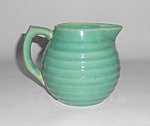 Bauer Pottery Ring Ware Jade 1.5 Pint Pitcher (Image1)