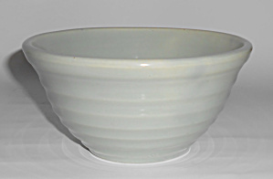 Bauer Pottery Ring Ware Grey #30 Mixing Bowl! MINT (Image1)