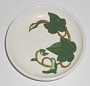 Metlox Pottery Poppy Trail California Ivy Coaster! MNT (Image1)