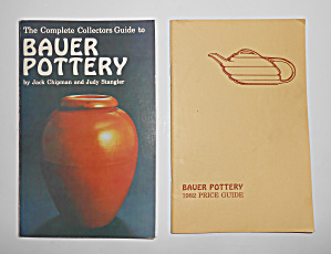 1982 Bauer Pottery Book 2nd Printing W/price Guide