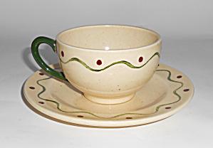 Metlox Pottery Poppy Trail California Provincial Cup/Sa (Image1)