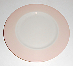 Franciscan China Encino Breakfast Shell Pink Bread Plt