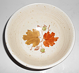 Metlox Pottery Woodland Gold Coupe Cereal Bowl Mint