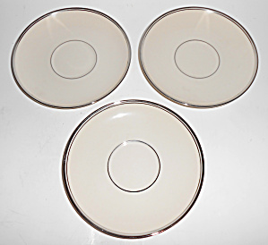 Franciscan Pottery Fine China Huntington Rose Set/3 Sau (Image1)