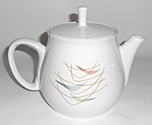 Franciscan Pottery Swing Time Teapot