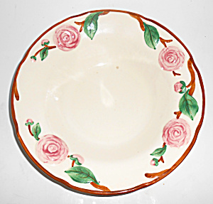Metlox Pottery Poppy Trail Camellia Vegetable Bowl