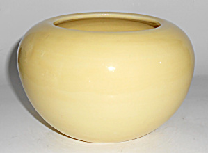 Bauer Pottery Fred Johnson Yellow Art Vase Mint