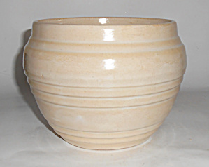 Pacific Pottery Early White Banded Jardiniere! (Image1)