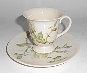 Franciscan Pottery Fine China Granada Demi Cup/saucer