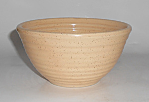 Bauer Pottery Ring Ware Speckle #36 Mixing Bowl