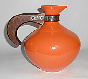 Metlox Pottery Poppy Trail Series 200 Orange Carafe (Image1)