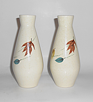 Franciscan Pottery Autumn Oversize Salt/pepper Shakers