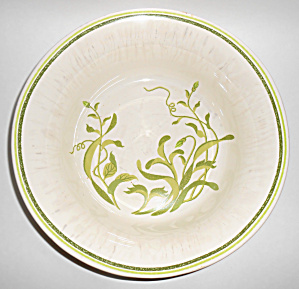 Franciscan Pottery Greenhouse Primary Master Salad Bowl