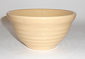 Bauer Pottery Ring Ware Ivory #30 Mixing Bowl