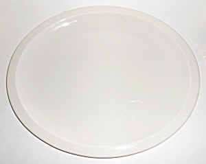 Franciscan Pottery Sea Sculptures White Primary Platter