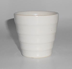 Franciscan Pottery Tropico White 2in Cactus Flower Pot