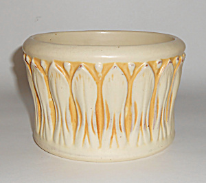 Peters And Reed Art Pottery Ivory Jardiniere
