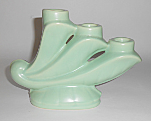 Bauer Pottery Ray Murray Cal-art Triple Candlestick