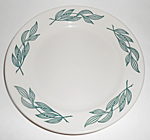 Buffalo China Green Leaf Restaurant Dinner Plate!  (Image1)