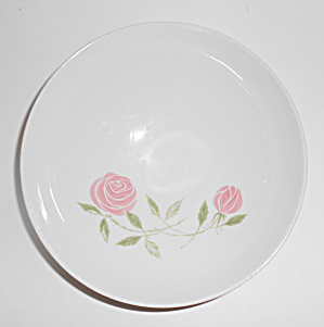 Franciscan Pottery Whitestone Pink-a-dilly Cereal Bowl