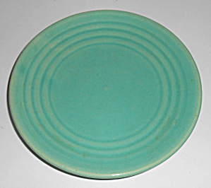 Bauer Pottery Ring Ware Jade Bread Plate Mint