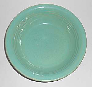 Garden City Pottery Green Ring Cereal Bowl! MINT (Image1)