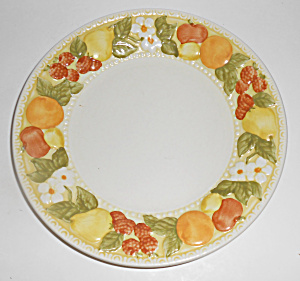 Metlox Pottery Vernon Ware Della Robbia Salad Plate!  (Image1)