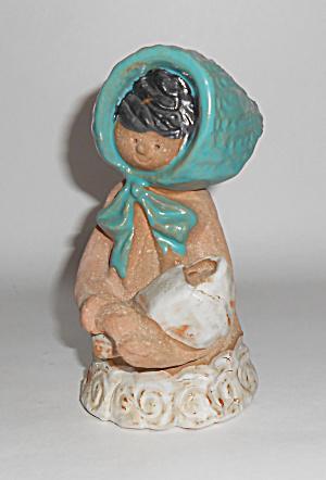 Metlox Pottery Poppy Trail Artware Sally W/Baby Poppet! (Image1)