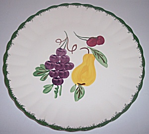 Blue Ridge Pottery Fruit Fantasy Chop Plate! (Image1)