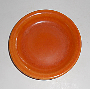 Pacific Pottery Hostess Ware Apache Red Coaster Mint
