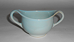 Rosemeade Pottery Sky Blue Sugar Bowl Mint