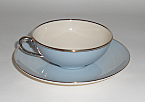 Franciscan Pottery Twilight Fine China Cup/saucer Mint