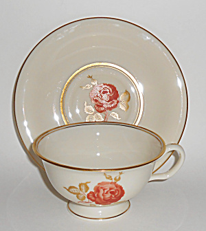 Castleton China June Cup/saucer Set Mint