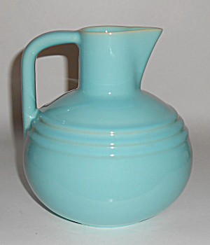 Pacific Pottery Hostess Ware Lt Blue Buffet Bottle Min