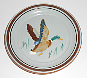 Stangl Pottery Mallard Duck Coaster/ashtray Mint