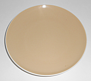 Franciscan Pottery Whitestone Fan Tan Bread Plate Mint