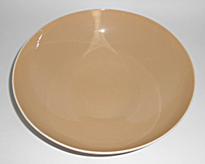 Franciscan Pottery Fan Tan Large Salad Bowl! MINT (Image1)