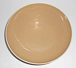 Franciscan Pottery Fan Tan Vegetable Bowl Mint