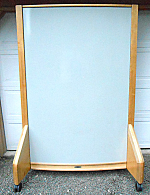 Knowhere Dry Erase Two-sided Curved Board Very Large