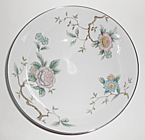 Dw Fine Japan Porcelain China Floral Tree Vegetable