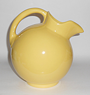 Pacific Pottery Hostess Ware Yellow #420 Ball Pitcher