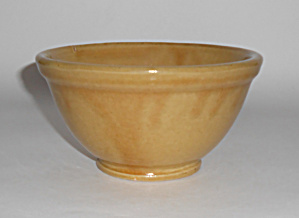 Bauer Pottery Yellow Plain Ware #30 Mixing Bowl