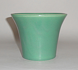Bauer Pottery 4in Jade Spanish Flower Pot Mint