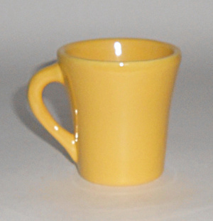 Catalina Island Pottery Yellow Demitasse Cup Mint