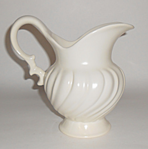 Franciscan Pottery Coronado Satin Ivory Water Pitcher