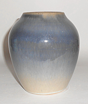 Cliftwood Art Pottery Blended Glaze Vase Mint