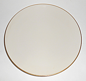 Flintridge China Huntington Gold Band Salad Plate